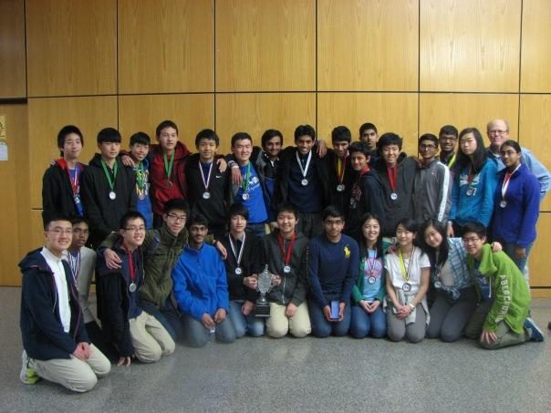 Science Olympiad team North